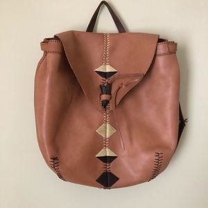 Lucky Brand 🍀 leather backpack